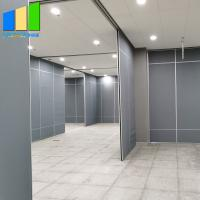 Convenient Movable Partition Walls MDF Melamine Panels For Exhibition Hall for sale