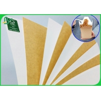 Food Compliance Ivory Kraft Paper Board 250gr 325gr For Making Lunch Box for sale