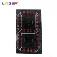 China Large Cree 7 Segment Digit Led Digital Board Component In 30 Inch Height for sale