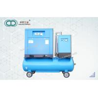 China Small Rotary Screw Air Compressor Stainless Steel Energy Saving FD-HL-119  with cold dryer for sale
