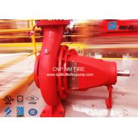 China NFPA-20 Centrifugal End Suction Fire Pump One Stage For Oil Terminals for sale