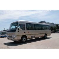 China Front engine Coaster Bus Sightseeing Passenger Vehicle 410Nm /1500rpm Torque for sale