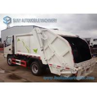 KAMA 4*2 2 Axles Small Rear Loader Garbage Truck 3cbm--5cbm Garbage Disposal Truck for sale