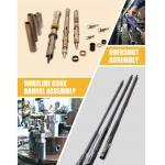 China Triple Tube Core Barrel Assembly / NQ3 HQ3 PQ3 Double Core Barrel Wire-Line Diamond Drilling for sale