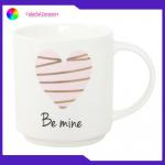 Stackable Ceramic Coffee Mug Set 480ml Capacity Disherwasher Safe Customized Logo for sale