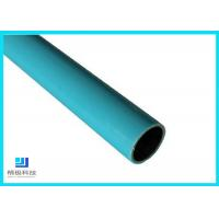 Composite Pipes Use For Production Line Blue Plastic Coated Steel Pipe for sale