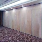 China Acoustic Commercial Movable Partition Walls On wheels Cost For Dance Studio for sale