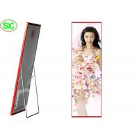 Portable Indoor Full Color LED Display , Digital LED Poster P3 Led Media Display for sale