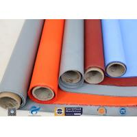 Plain Weave Thermal Insulation Materials Silicone Coated Fiberglass Fabric for sale