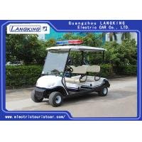 China Four Person Electric Golf Buggy With Free Maintain Acid Battery / Mini Electric Golf Cart for sale