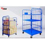 Powerful supplier sale used in workshop foldable work cargo transport trolley 1100*800*1700MM