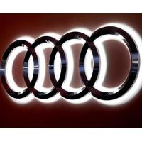 China Vacuum PVD Coating Service RTCS For Illuminated 3d Led Car Logo Board supplier