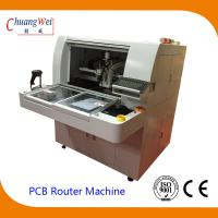 High Resolution CCD and Camera TAB PCB Separator Machine PCB Router for sale