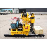 China Geological Survey Water Well Drilling Rig , Water Drilling Borehole Machine 200M supplier