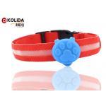China Pretty Mini Safety Dog LED Light ID Tag , LED Dog Collar Blinker Lights for sale