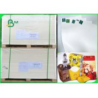 China 160gsm smothness ivory paper with 15gsm PE - Coated paper for paper cup for sale