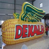 Water Resistant  Inflatable Corn Model / Inflatable Vegetables Logo For Farm for sale
