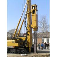 TH -60 Hydraulic Pile Rig Piling Machinery with Yellow Color and Sinovo Brand for sale