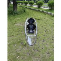 Light Weight Clear Plastic Kayak Polycarbonate Transparent  Eco - Friendly