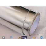 Fire Resistant Waterproof Silver Aluminium Foil Fiberglass Laminate for sale
