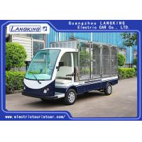 China 2 Seater Electric Cargo Van For Goods Loading And Unloading 900kg with big cargo electric freight car for sale
