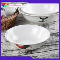 China Vintage Porcelain 7 Inch Handmade Ceramic Bowls Customized Food Contact Safe for sale
