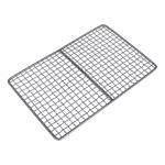 China Safety Titanium Barbecue Grill Wire Mesh , Healthy Bbq Charcoal Tray for sale