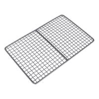 Safety Titanium Barbecue Grill Wire Mesh , Healthy Bbq Charcoal Tray for sale