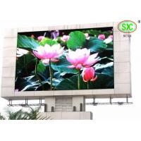 Pixel Pitch 6mm Advertising large outdoor LED display screens for plaza / mansion for sale