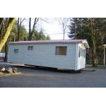 China Light Steel Moisture-proof Prefab Mobile Homes / Yellow Mobile Manufactured Homes for sale