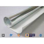 Siliver Aluminum Foil Coated C-Glass Fiberglass Insulation Fabric