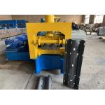 Professional Guardrail Roll Forming Machine With 45# Steel And 380v Voltage for sale