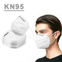 Anti Droplet KN95 Face Mask , Adult Disposable Dust Respirator With CE FDA Apprvoal for sale