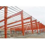 Self Design Prefab Workshop Buildings , Industrial Structural Steel Workshop for sale