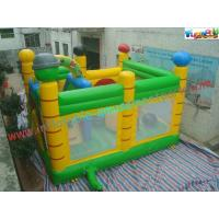 China 0.55mm PVC Tarpualin Inflatable bouncer slide Combo , Bouncer Jumpers Custom supplier