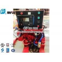 China UL Listed highly cost effective Fire Pump Diesel Engine With Small Housepower Used in for sale