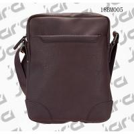 Brown Cross Shoulder Mens Fashion Bags , Waterproof Cross Body Bag In PU for sale