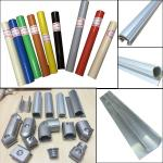 Lean pipe assemble pipe rack PE coated pipe and auminum pipe and joint System for sale
