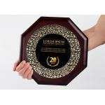 China Customized Wooden Shield Plaque Souvenirs For Business Authorization Certification for sale