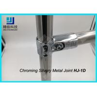 ESD Creform Pipe Workbench Chrome Pipe Fittings Chrome Plated Metal Joint Anti Static for sale