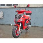 12 DOT Tire Adult Kick Scooter / Motor Scooter 150cc CVT Engine With Rear Trunk for sale