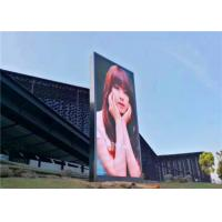 IP65 Outdoor LED Video Display 1R1G1B LED Screen Project CE for Video / Advertising for sale