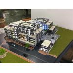China Machine - Cutting Modern Building 3D Model , LED Scale Building Models for sale