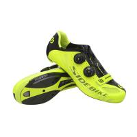 Pantalon Fluorescent Cycling Shoes No Slip , Anti Abrasion Bike Bicycle Shoes for sale
