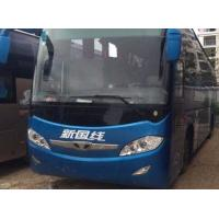 Used Daewoo 6127 model weichai engine 55 seats coach bus 294 KW