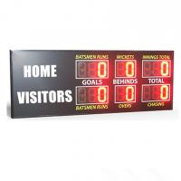 China Traditional Aussie Rules AFL Electronic Scoreboard  900MM X 2650MM X 100MM for sale
