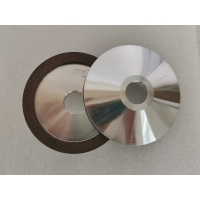 4A2 Diamond Wheel,Aluminum substrate,Red-brown,Sharpen sawtooth,