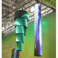 Indoor Full Color Flexible Led Video Screen P4 MTBF 50000 Hours for sale