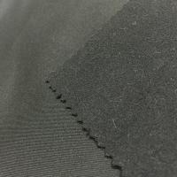 Fashion Stretch Jersey Knit Fabric Brocade Ammonia Milled Double Sided Fabric for sale