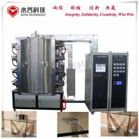 Metal Table  Pvd Gold Coating Machine , Stainless Steel Furniture TiN Gold Coating Equipment for sale
